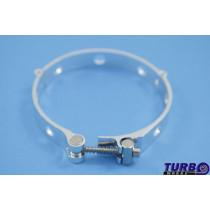 T csőbilincs TurboWorks aluminium 105-111mm